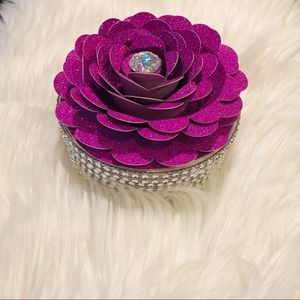 Other - Blinged our Flower Jewelry Box